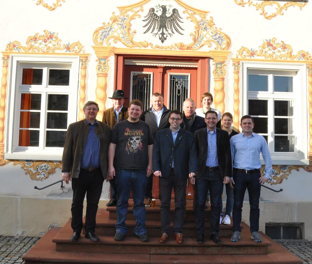 Gründungsmitglieder des Verenis Rathaus Eglofs e. V.